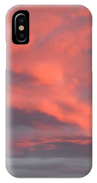 IPhone Case featuring the digital art Pink Clouds In The Sky by Margarethe Binkley