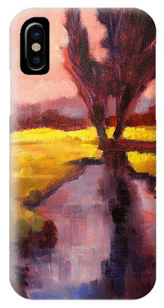 Tint iPhone Case - Pink Sky Sunset by Nancy Merkle