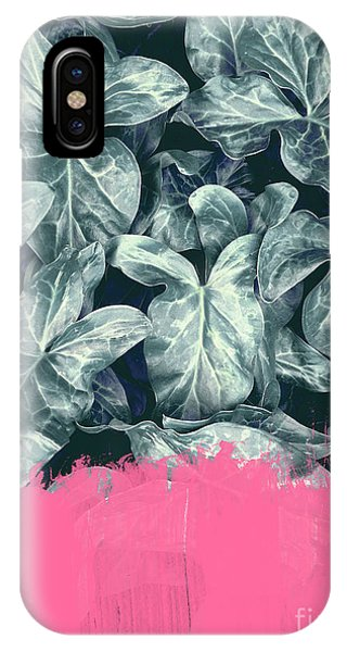 Pink Sorbet On Jungle IPhone Case