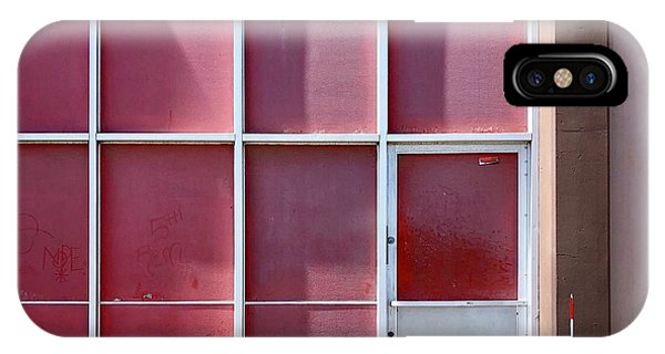 iPhone Case - Pink Squares by Julie Gebhardt