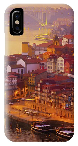 Pink Sunset In Porto IPhone Case