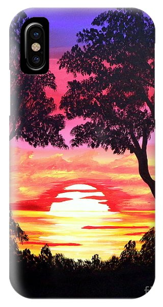 Pink Sunset IPhone Case