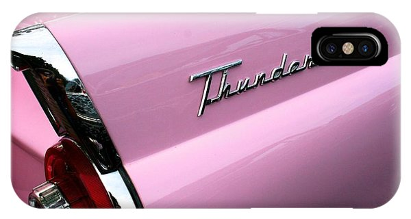 Pink Thunderbird IPhone Case
