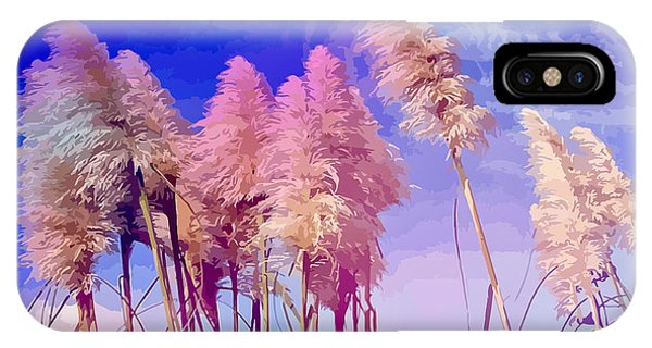 Pink Toi Toi Grasses IPhone Case