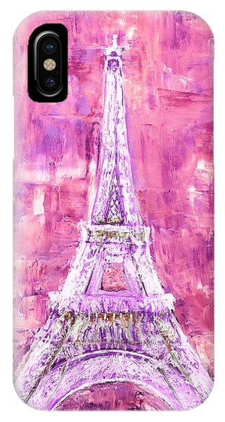 Pink Tower IPhone Case