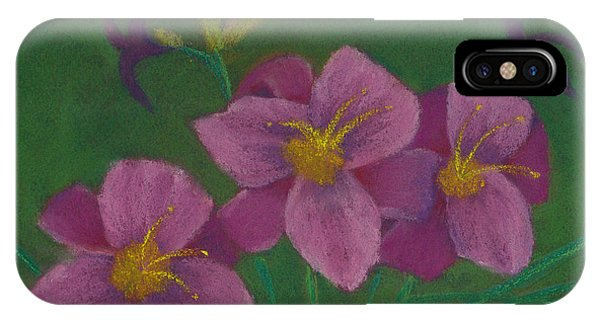 Pink Whispers IPhone Case
