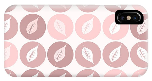 Autumn iPhone Case - Pinkish Leaves by Gaspar Avila