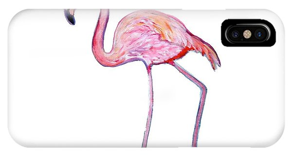 Pinky The Flamingo IPhone Case