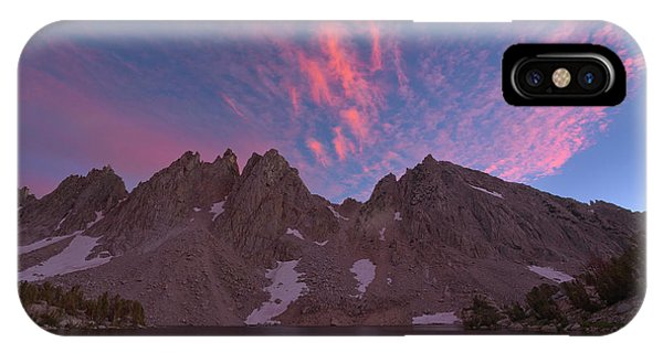 Kings Canyon iPhone Case - Pinnacle Sunset by Brian Knott Photography
