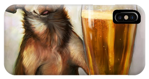 Beer iPhone Case - Pint Sized Hero by Sean ODaniels