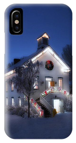 Pioneer Chapel At Christmas IPhone Case