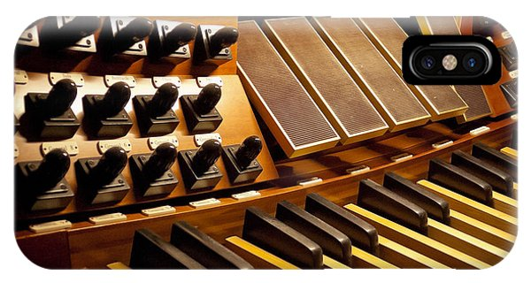 Pipe Organ Pedals IPhone Case