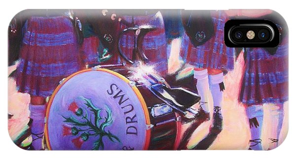 Pipes And Drums IPhone Case