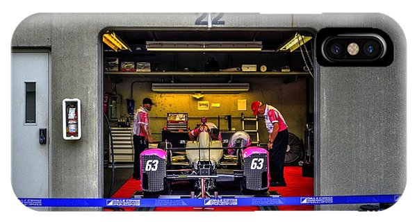 Pippa Mann Garage 2016 IPhone Case