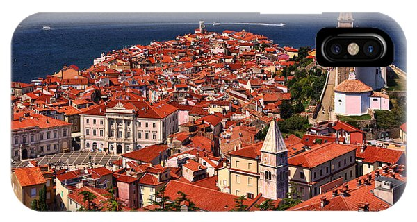 Piran From The Castle Wall IPhone Case