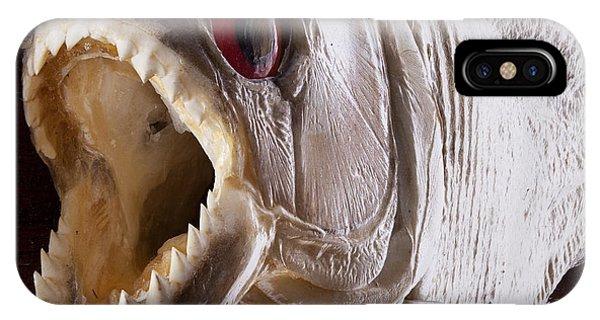 Piranha Fish Close Up IPhone Case