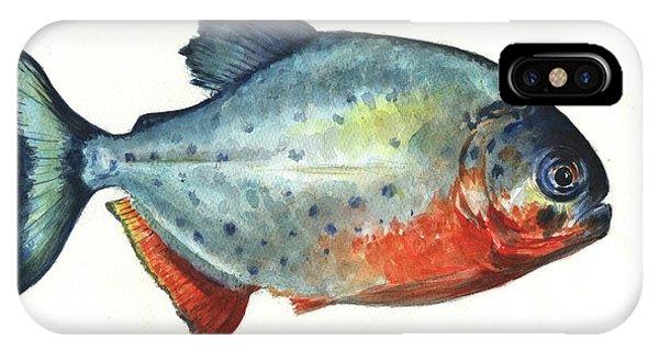 Piranha Fish IPhone Case