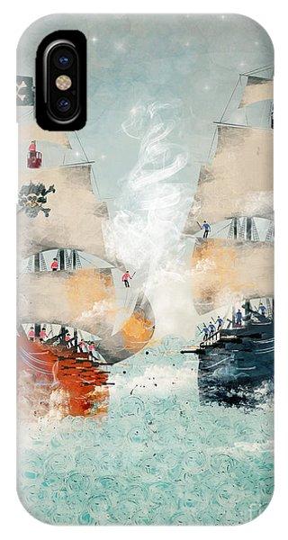 Ship iPhone Case - Pirates Ahoy by Bri Buckley