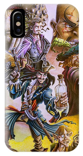 Orlando Bloom iPhone Case - Pirates Of The Caribbean by Michael Christmas