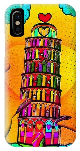 Pisa Popart By Nico Bielow IPhone Case
