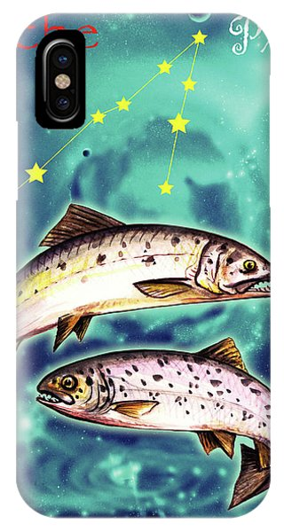 iPhone Case - Pisces In The Sky by Johannes Margreiter