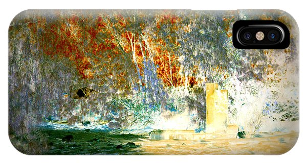 Pissarro's Garden IPhone Case