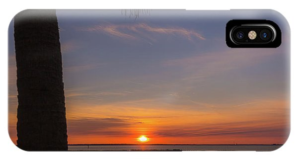 Pitt Street Bridge Palmetto Sunset IPhone Case