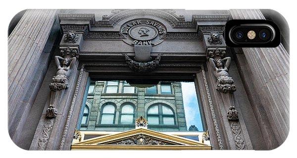 iPhone Case - Pittsburgh Caryatids by Steven Richman