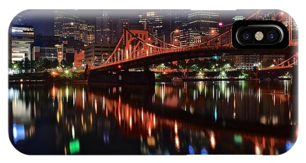 Pittsburgh Lights IPhone Case