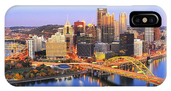 Pittsburgh Pano 22 IPhone Case