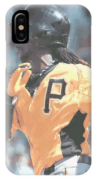Andrew iPhone Case - Pittsburgh Pirates Andrew Mccutchen by Joe Hamilton