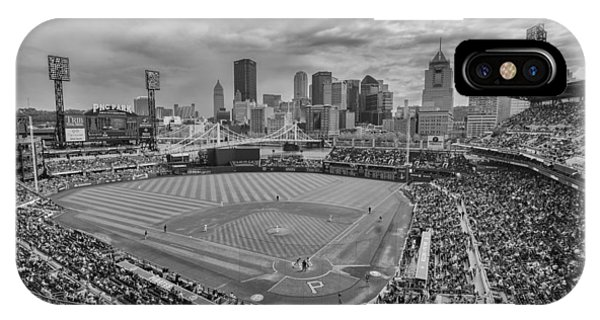 Pittsburgh Pirates Pnc Park Bw X1 IPhone Case