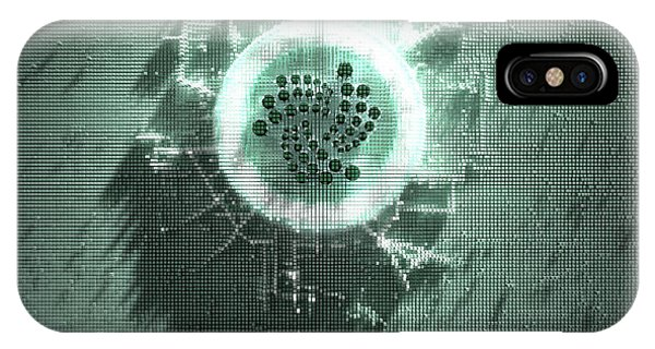 Virtual iPhone Case - Pixel Iota Concept by Allan Swart