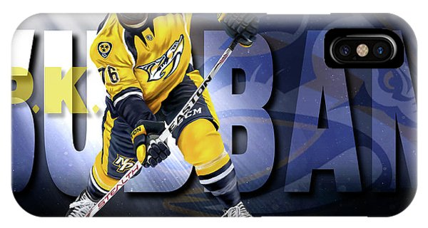 Pk Subban IPhone Case