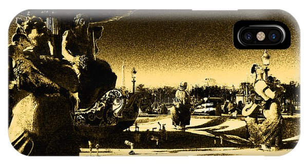 Place De La Concorde IPhone Case