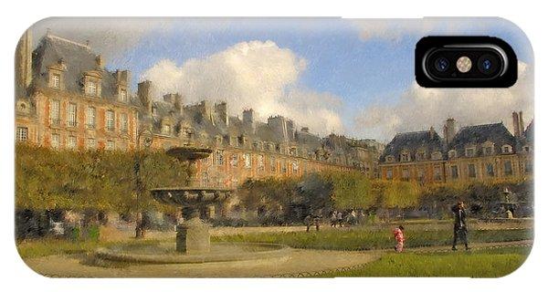 Place Des Vosges IPhone Case