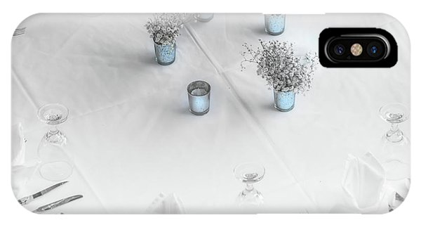 Place Settings IPhone Case