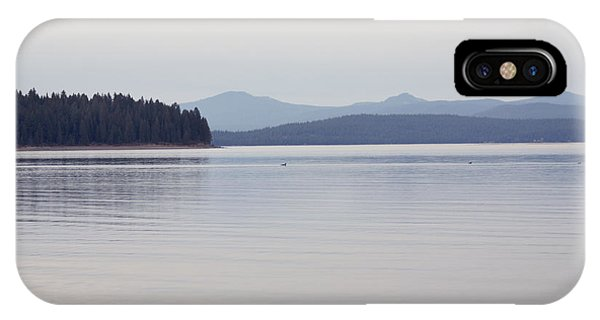 Placid Mountain Lake IPhone Case