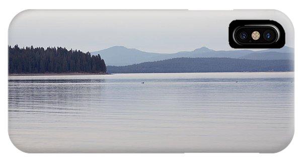 Placid Mountain Lake IPhone Case