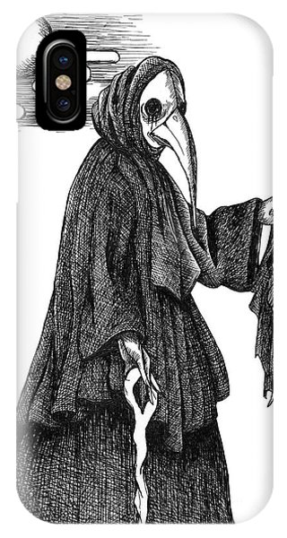 Plague Doctor IPhone Case