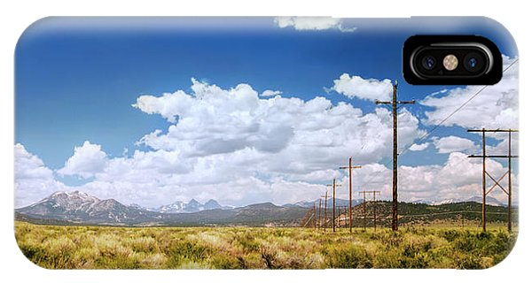 Plains Of The Sierras IPhone Case