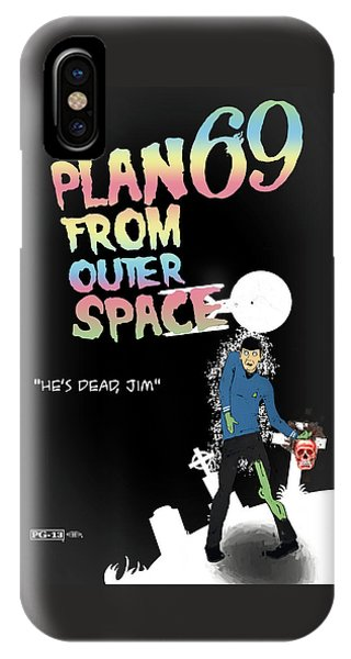 Plan 69 From Outer Space IPhone Case