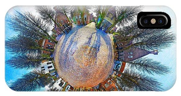 Planet Bourtange IPhone Case