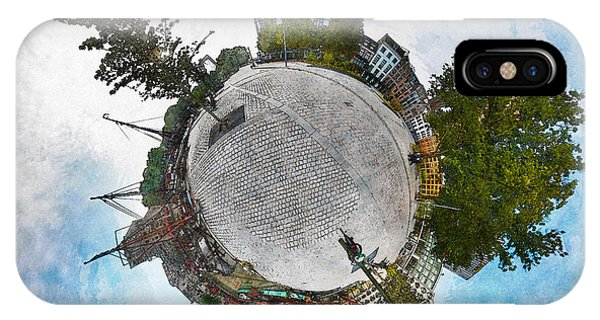 Planet Gelderseplein Rotterdam IPhone Case
