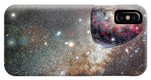 iPhone Case - Planet Love by Ron Morecraft
