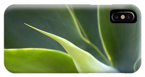iPhone Case - Plant Abstract by Tony Cordoza