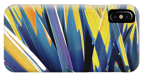 Plant Burst - Yellow IPhone Case