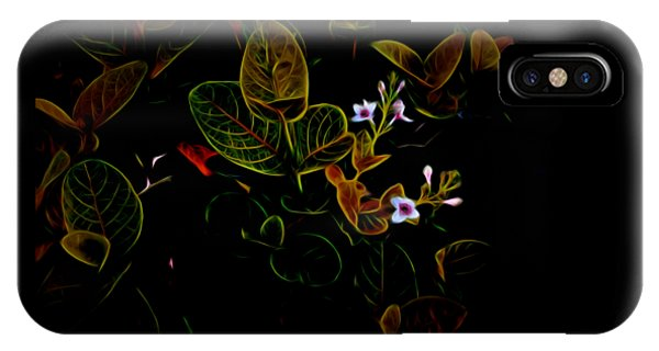 Plants In Abstract 19 IPhone Case