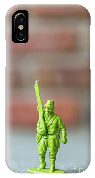 Plastic Toy Soldier Army Man IPhone Case