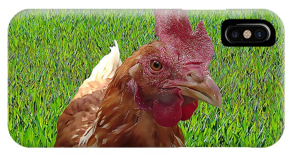 Play Chicken IPhone Case